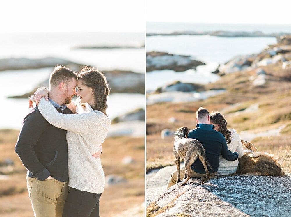 Pollys Cove Coastal Cliffside Halifax Engagement_08.jpg