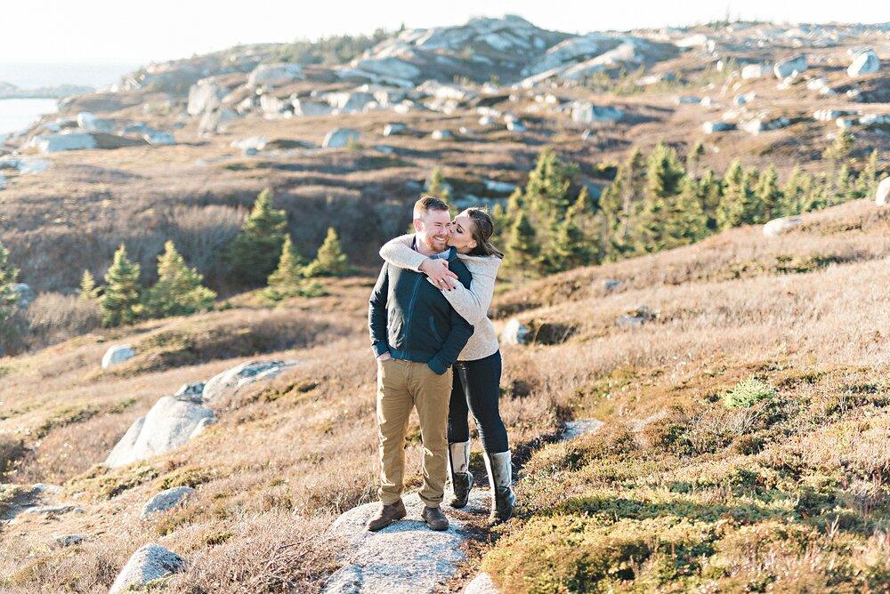 Pollys Cove Coastal Cliffside Halifax Engagement_10.jpg